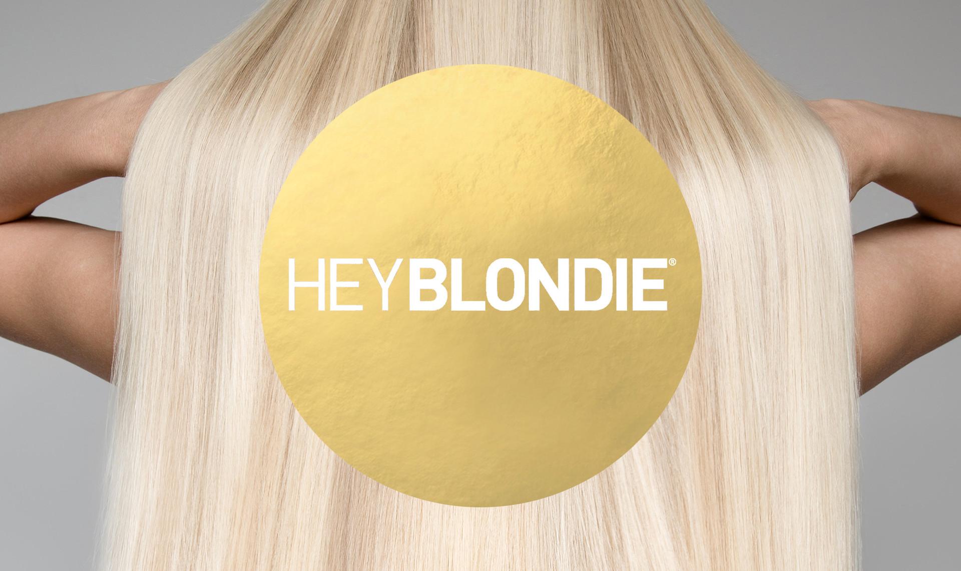 HeyBlondie Logo Design, Branding & Trademark
