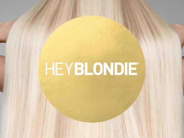 HeyBlondie Logo Design, Branding, Packaging Design & Marketing