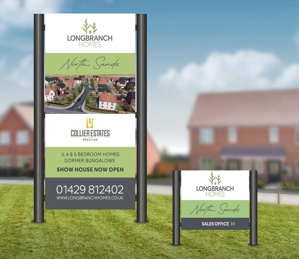 Longbranch Homes Wayfinder Signage