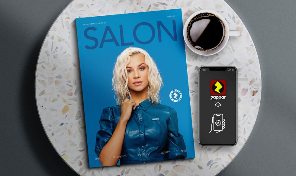 ColourCode Augmented Reality Magazine Cover Design