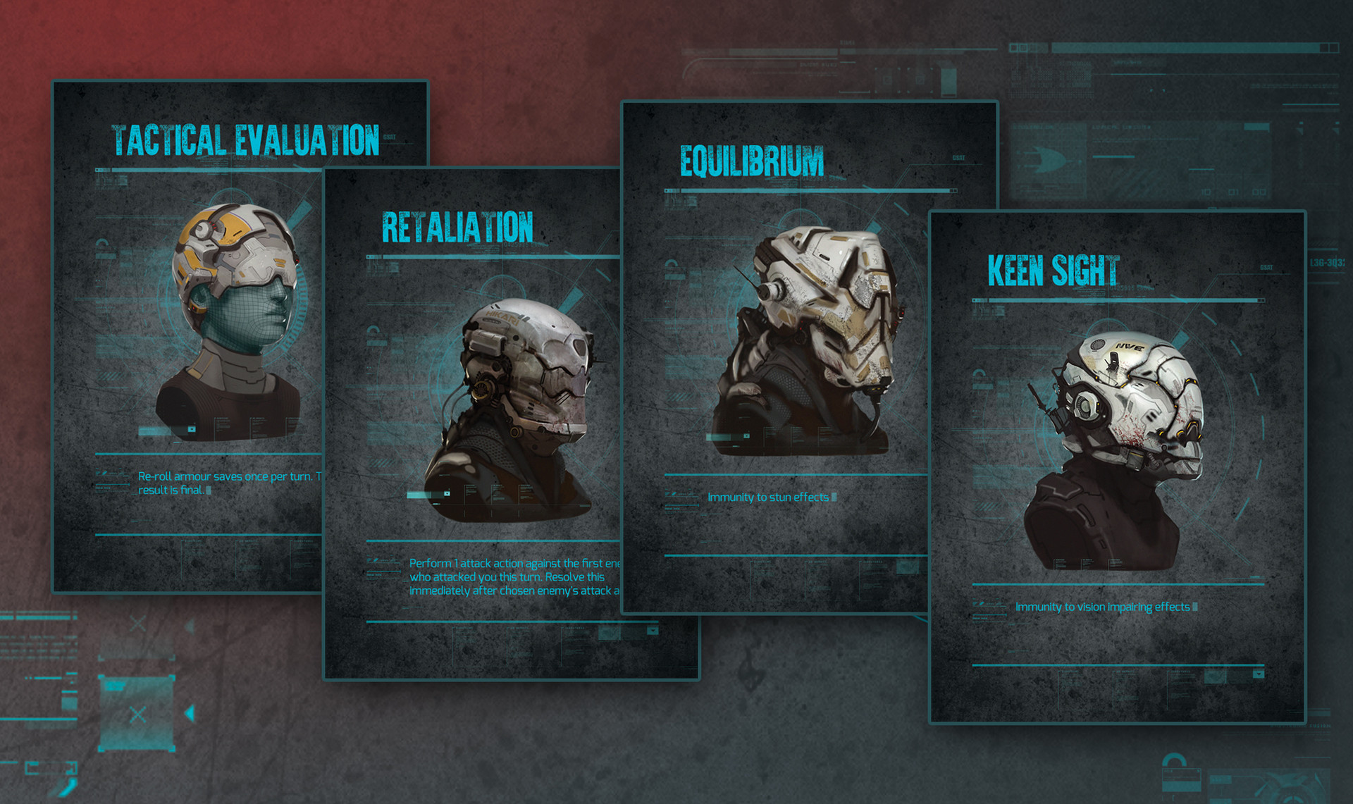 Endure The Stars Helmet Card Deck Design