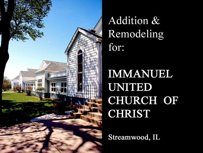 04 06 29 Immanuel UCC  Lighting and AC (