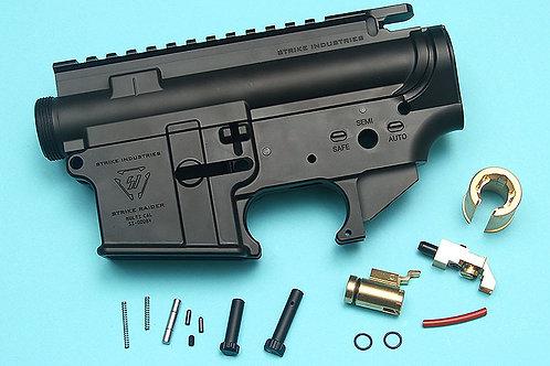 G&P MWS Forged Aluminum SI M4 Receiver Set (Cerakote Black Finish)