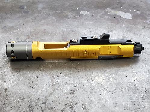 G&P MWS M4 Bolt Carrier Set  (Gold)(For G&P Buffer Tube)
