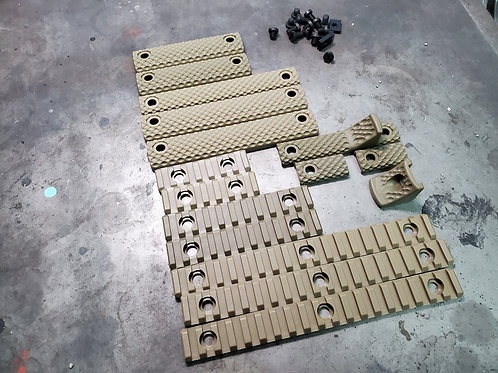 G&P URX III Rail Cover Set (L) (Sand)