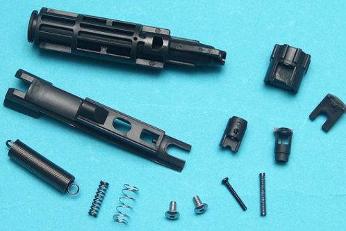 G&P Reinforced Drop In Complete Nozzle Set For Marui MWS  (Gun Metal Gray)