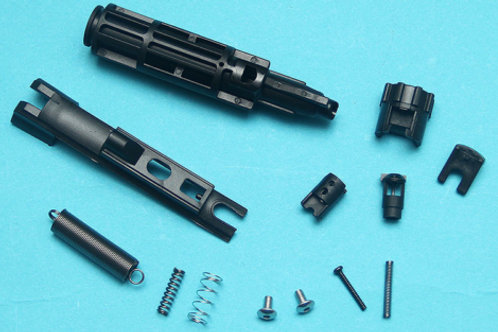 G&P Reinforced Drop In Complete Nozzle Set For Marui MWS (Black)