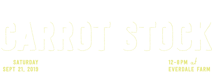 Carrot Stock Title | Music Festival | Everdale Farm |