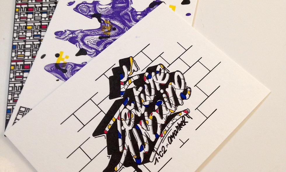 Omarker Letterpress serie