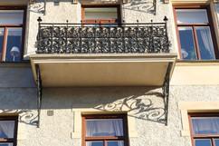 Renovering av K-märkta balkonger på Strandvägen
