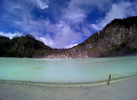 #travelwithguzel to Kawah Putih and the story behind Beautiful Indonesia Volume 2.0