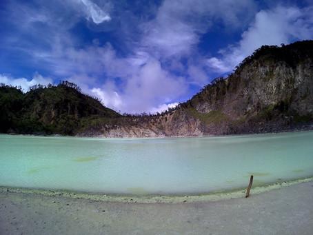 #travelwithguzel to Kawah Putih and the story behind Beautiful Indonesia Volume 2.0