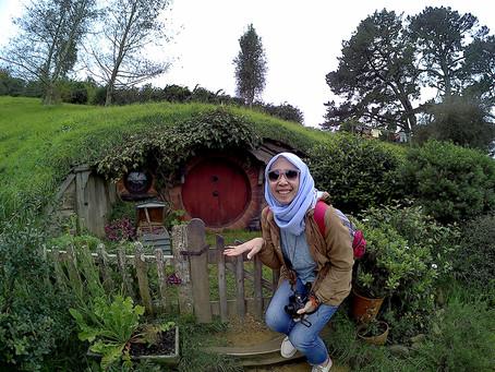 #travelwithGuzel ke Hobbiton Movie Set, NZ