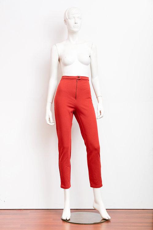 Pantaloni terra bruciata