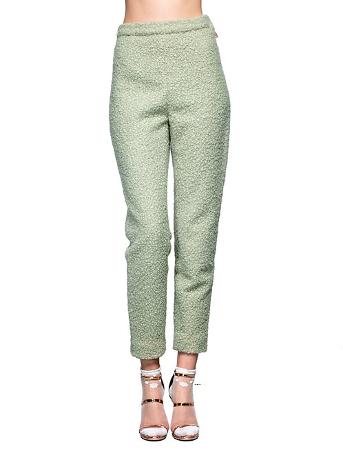 Pantalone verde menta