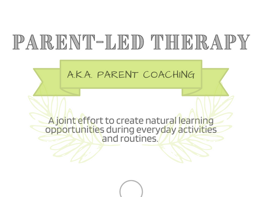 Parent-Led Therapy