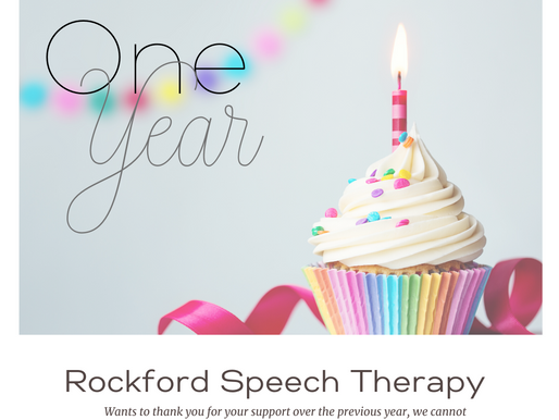 One Year Milestone For Rockford Speech