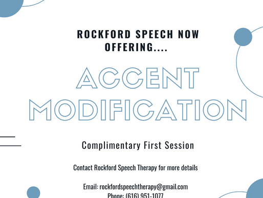 Accent Modification at Rockford Speech