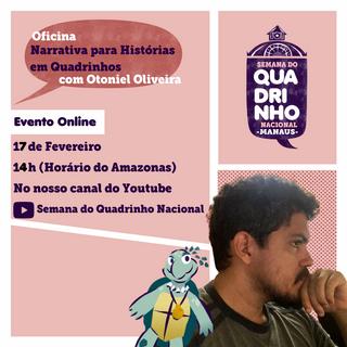 Oficina de Narrativa com Otoniel Oliveira