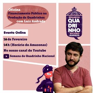 Oficina de Financiamento para Quadrinhos com Luiz Andrade