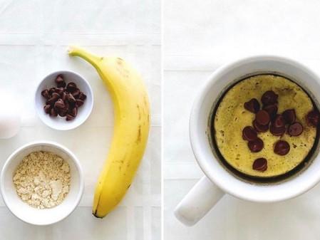 Pan de banana y chocolate