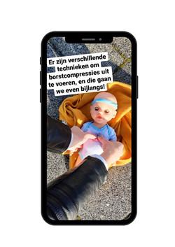 Kopie van Blue and Purple Mobile Phone S