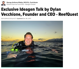 Huffington Post: Ideagen Talk by Dylan Vecchione