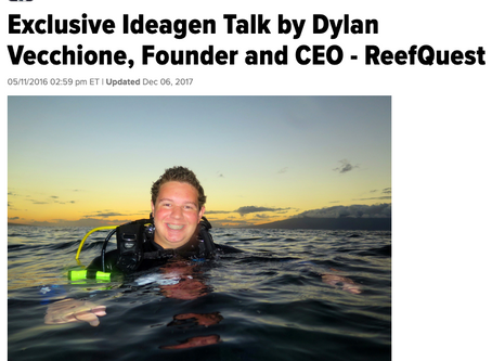 Huffington Post: Ideagen Talk by Dylan Vecchione