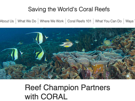 ReefQuest parters with the Coral Reef Alliance