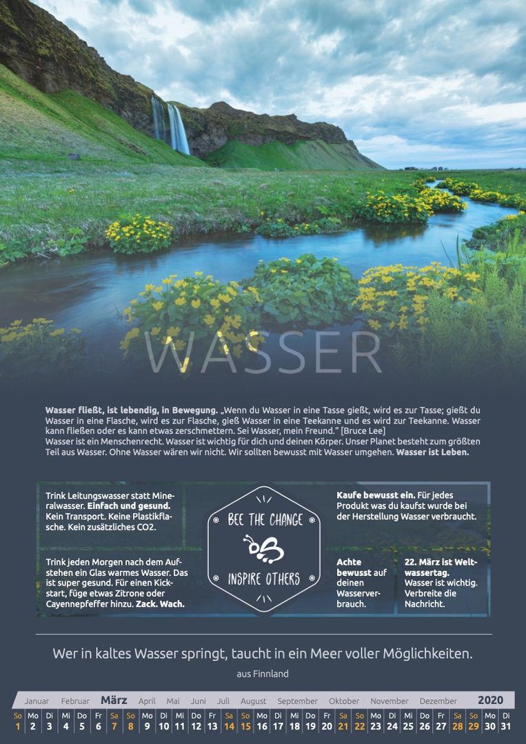 März - Wasser
