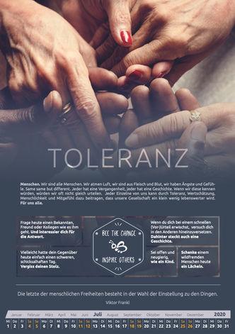 Juli - Toleranz