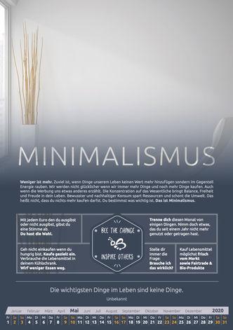 Mai - Minimalismus