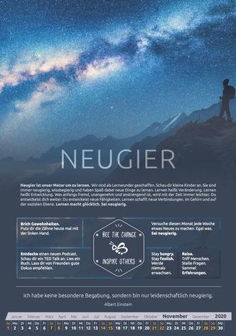November - Neugier
