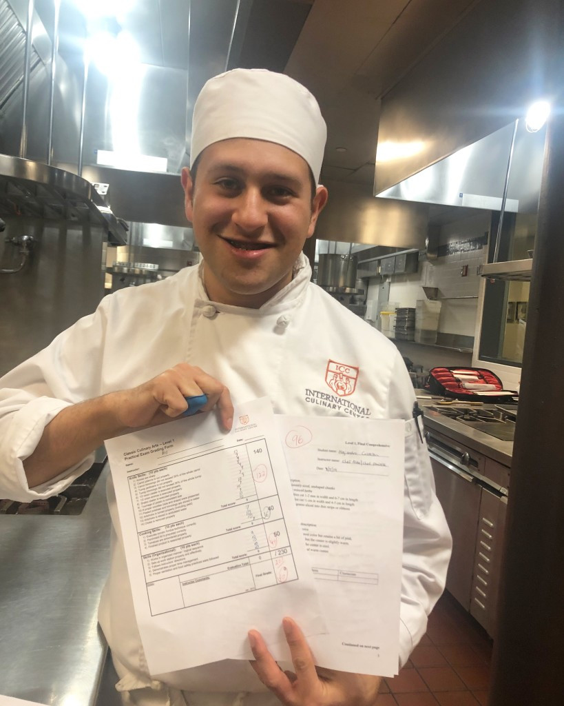 Alejandro Castellon, 2018 Aarón Sánchez Scholarship Fund Recipient