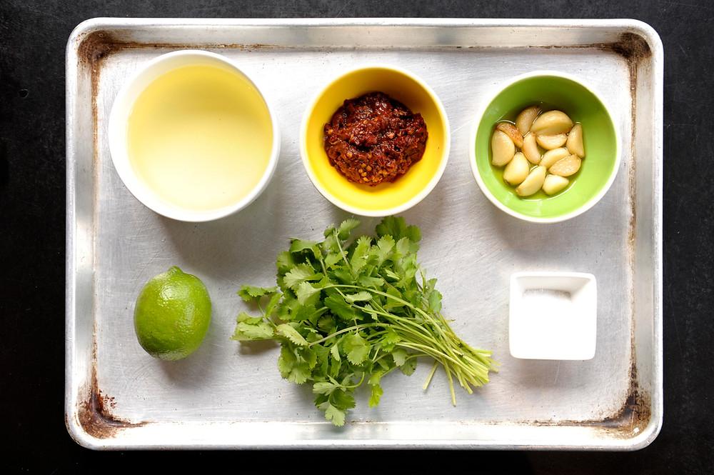 Garlic Chipotle Love Ingredients