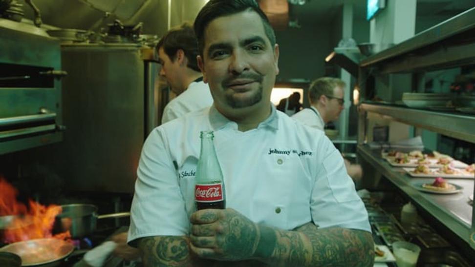 Aarón Sánchez x Coca-Cola