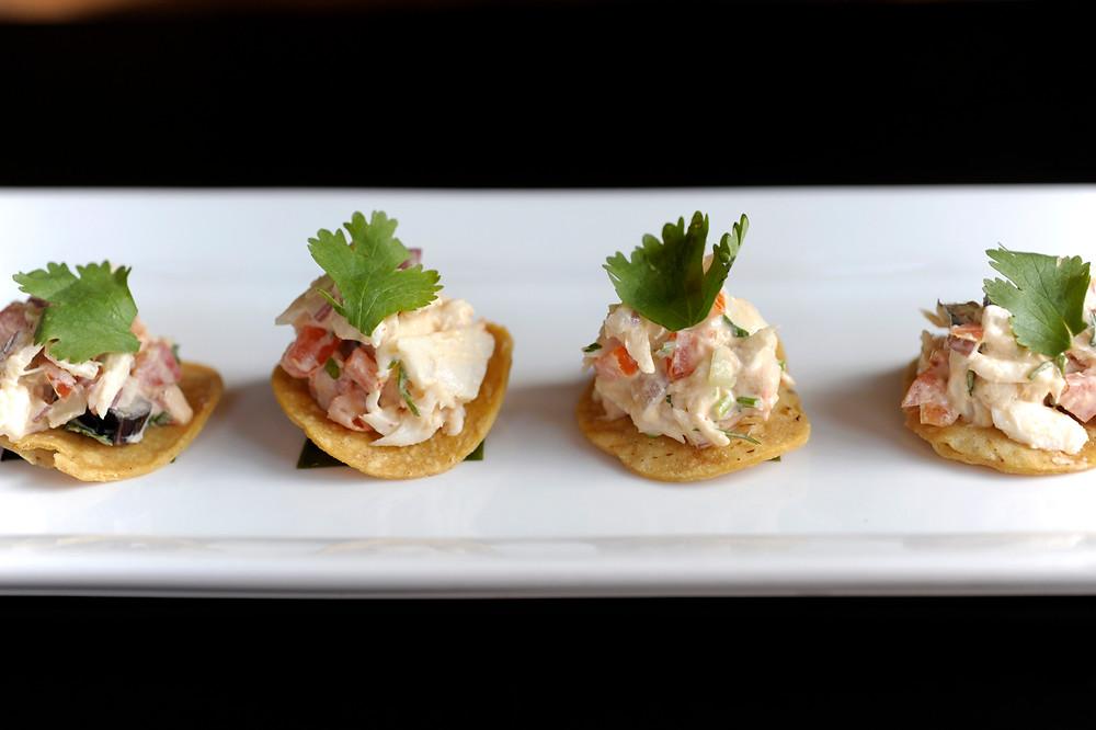 Crab Tostadas, Simple Food Big Flavor