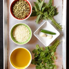 Cilantro-Cotija Pesto