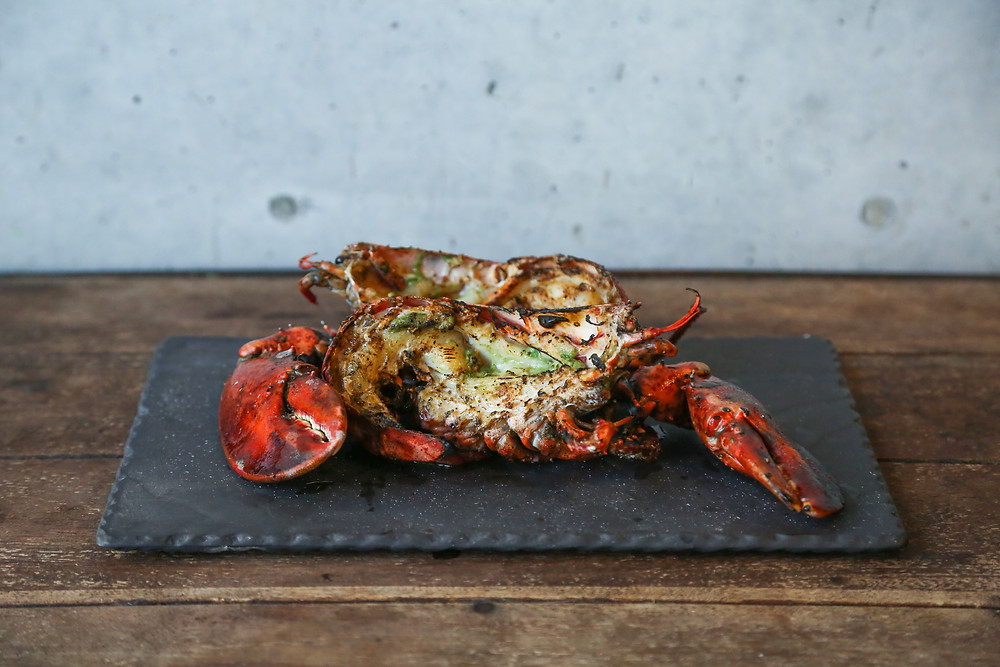 Grilled Lobster with Yucatan-Style Recado