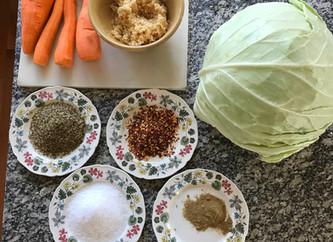 Fermenting Vegetables - A Basic Recipe
