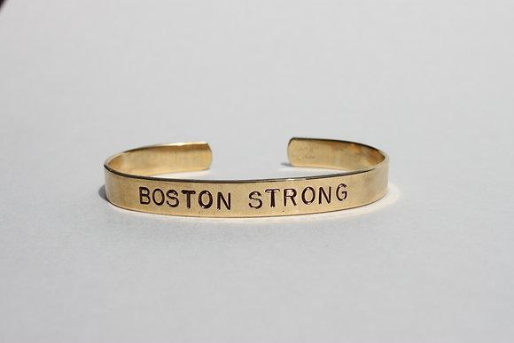 Boston Strong Cuff Bracelet