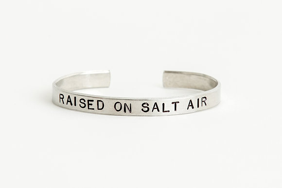 Raised on Salt Air Cuff Bracelet