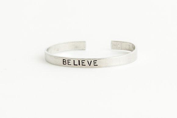 Believe Cuff Bracelet