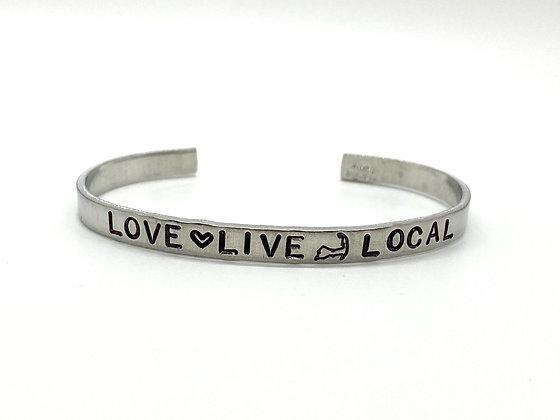 Love Live Local Cuff Bracelet