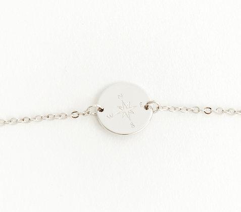 Compass Rose Charm Bracelet