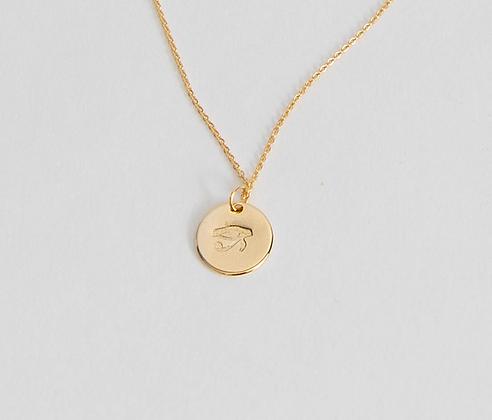 Eye of Horus Charm Necklace