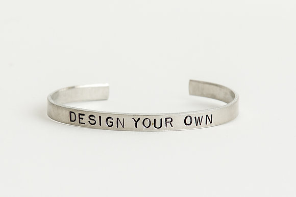 Design Your Own Cuff Bracelet
