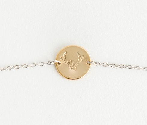 Antler Charm Bracelet