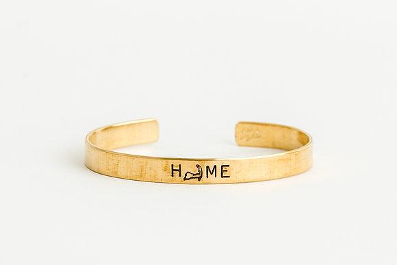 Home Cuff Bracelet
