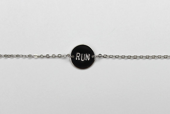 Run Charm Bracelet